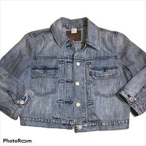 Levi's womens Small Jean jacket cropped